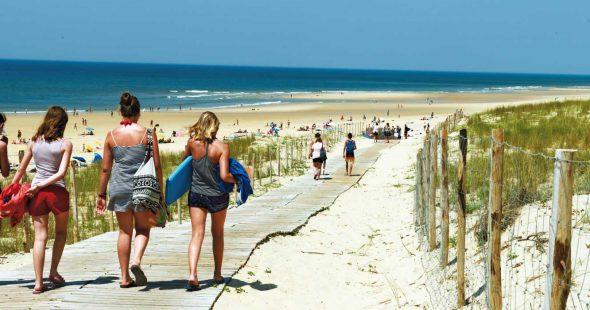 Accès Direct à plage près du camping Airotel l'Océan