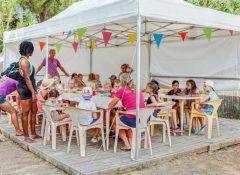 Le club enfants dans le camping Bon Port à Lunel
