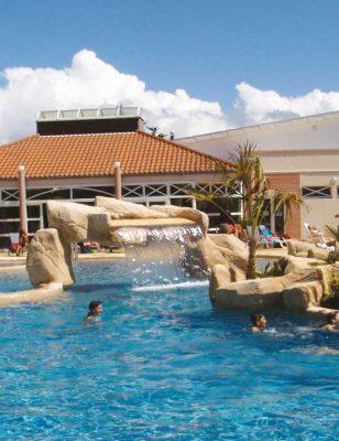 Le parc aquatique du camping La boutinardière à Pornic