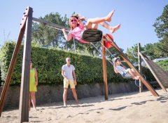 L'aire de jeux pour enfants du camping Itsas Mendi à Saint Jean de Luz