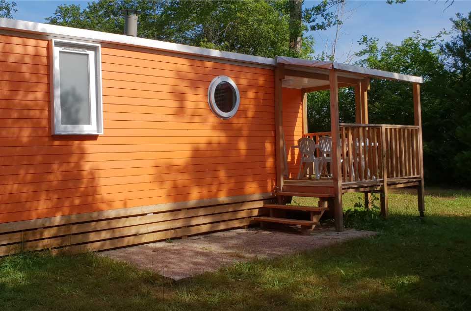 Un mobilhome tout confort dans le camping Maillac près de Sarlat