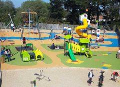 L'aire de jeux pour enfants au camping La Boutinardière à Pornic