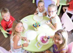 Le club enfants au camping La Boutinardière à Pornic