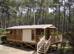 Un chalet dans le camping Mimizan CLub Marina Landes