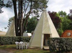 Un hébergement insolite tipi dans le camping L'Etang du pays blanc à Guérande