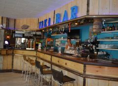 Le bar dans le camping Le Floride à Barcares