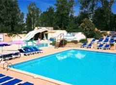 La piscine dans le camping Les Jardins de Tivoli au Grau du Roi
