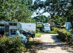 Les emplacements de camping dans le camping Mas de Pierredon à Sanary sur Mer