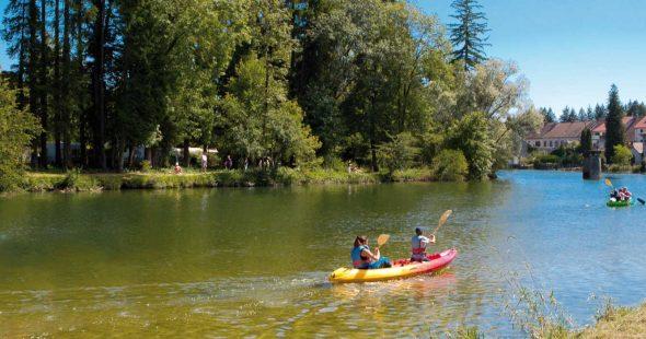 Sports Nautiques dans le Jura près du camping Le Moulin