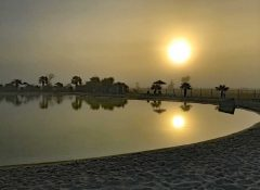 La piscine dans le camping l'Océan à Chatelaillon