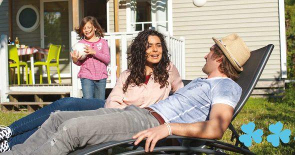 Un mobil home famille dans un camping 3 étoiles